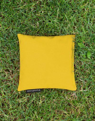 Cornhole-Wurfsäckchen in gelb spass-garant.de